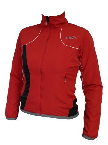SWIX Cruiser Training jacket Women red