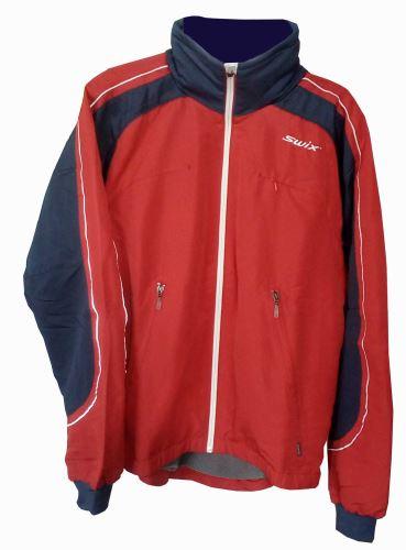 SWIX Team men´s jacket red