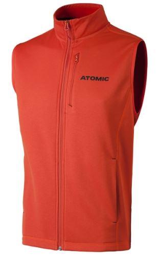 ATOMIC ALPS Fleece Vest Bright Red