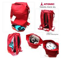 ATOMIC BAG TRAVEL PACK 35 L Red/Br Red